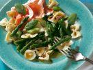 Spargel-Nudel-Salat mit Schinken Rezept