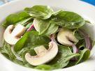 Spinat-Champignon-Salat Rezept