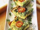 Spinat-Frittata mit Kirschtomaten Rezept