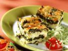 Spinat-Lasagne mit lustigem Käfer Rezept