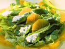 Spinatsalat mit Orangen Rezept