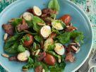 Spinatsalat mit Speck und Ei Rezept