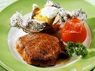 Steak mit Folienkartoffel Rezept