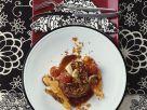 Steak mit gemischten Pilzen und Tomaten Rezept