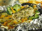 Steinbeißerfilet mit Gemüse und Kartoffeln aus der Folie Rezept