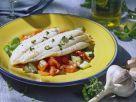 Steinbuttfilet mit Gemüse Rezept