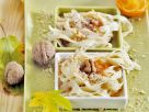 Süße Nudeln mit Walnüssen Rezept