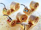 Süße Schnecken aus Biskuitteig Rezept