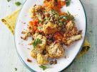 Süßkartoffelpüree mit Chili und Blumenkohl Rezept