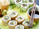 Sushi mit Thunfisch und Lachs Rezept