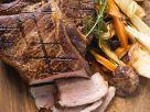 T-Bone-Steak mit Ofengemüse Rezept