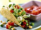 Tacos mit buntem Salat Rezept