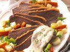 Tafelspitz mit Gemüse und Sauce Rezept