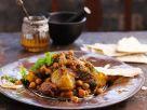 Tajine mit Rind und Kichererbsen Rezept