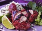 Tandoori-Hähnchen vom Grill Rezept