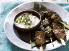 Tandoori-Spieße mit Lamm und Joghurtsauce Rezept