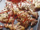 Tannenbaumplätzchen für den Weihnachtsbaum Rezept