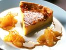 "Tarte ""Crema Catalana"" mit Orangensoße Rezept"
