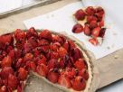 Tarte mit Erdbeeren Rezept