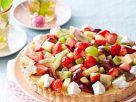 Tarte mit gemischtem Obst Rezept