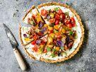 Tarte mit Heirloom-Tomaten und Ricotta Rezept