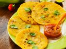 Teigfladen aus El Salvador mit Tomaten-Paprikapüree Rezept