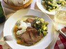 Tellerfleisch nach Wiener Art mit gekochtem Salat Rezept
