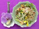 Thailändische Reisnudelpfanne mit Tofu und Chilisauce Rezept