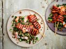 Thunfischspieße mit Getreidesalat Rezept