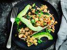 Tofu-Crumble mit Avocado Rezept