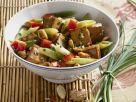 Tofu-Gemüse-Pfanne mit Erdnüssen Rezept
