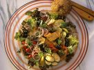 Tofu-Sprossen-Salat mit Gemüse Rezept