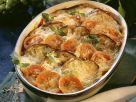 Tomaten-Auberginen-Gratin Rezept