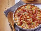 Tomaten-Kartoffel-Gratin mit Bacon und Zwiebeln Rezept