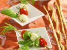 Tomaten-Minimozzarella-Spieße Rezept