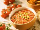Tomatendip mit Lauchzwiebeln Rezept