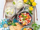 Tomatensalat mit Bohnen Rezept