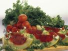 Tomatensülze in Melone Rezept