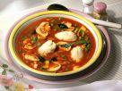 Tomatensuppe mit Grießklößchen Rezept