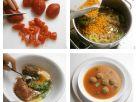 Tomatensupppe mit Fleischeinlage Rezept