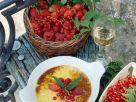 Topfengratin mit roten Beeren Rezept