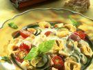 Tortellini mit Gemüse und Gorgonzolasauce Rezept