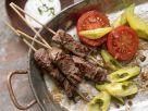 Türkische Rindfleischspieße Rezept