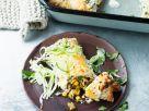 Überbackene Enchiladas mit Gemüse Rezept