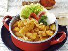 Ungarisches Kartoffel-Paprikagemüse Rezept