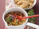 Vegane Gemüse-Bolognese mit Nudeln Rezept