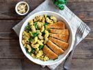 Vegane Mac'n'Cheese mit Wie'n Schnitzel-Streifen Rezept