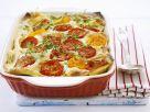 Vegetarische Lasagne mit Tomaten, Paprika und Zucchini Rezept