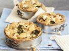 Vegetarische Quiche mit Blumenkohl und Brokkoli Rezept