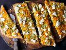 Vegetarischer Kürbisfladen mit Lauch Rezept